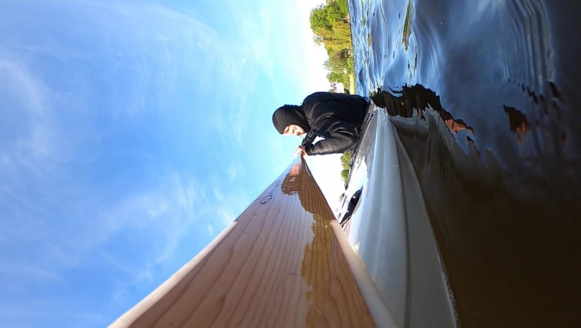 how to paddle with greenland paddle